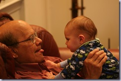 Gramps and Baby