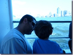 NYC Cruise Daddy and Munchkion