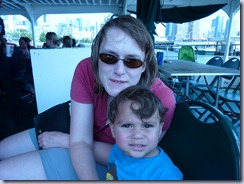 NYC Cruise Mommy and Munchkin