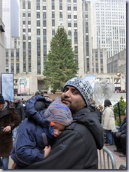 My Boys at NYC Tree