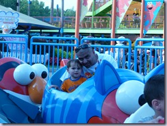 Sesame Place Elmo Ride