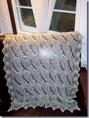 Estonia Shawl Off White